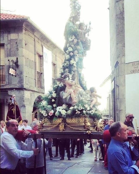 Santiago procession